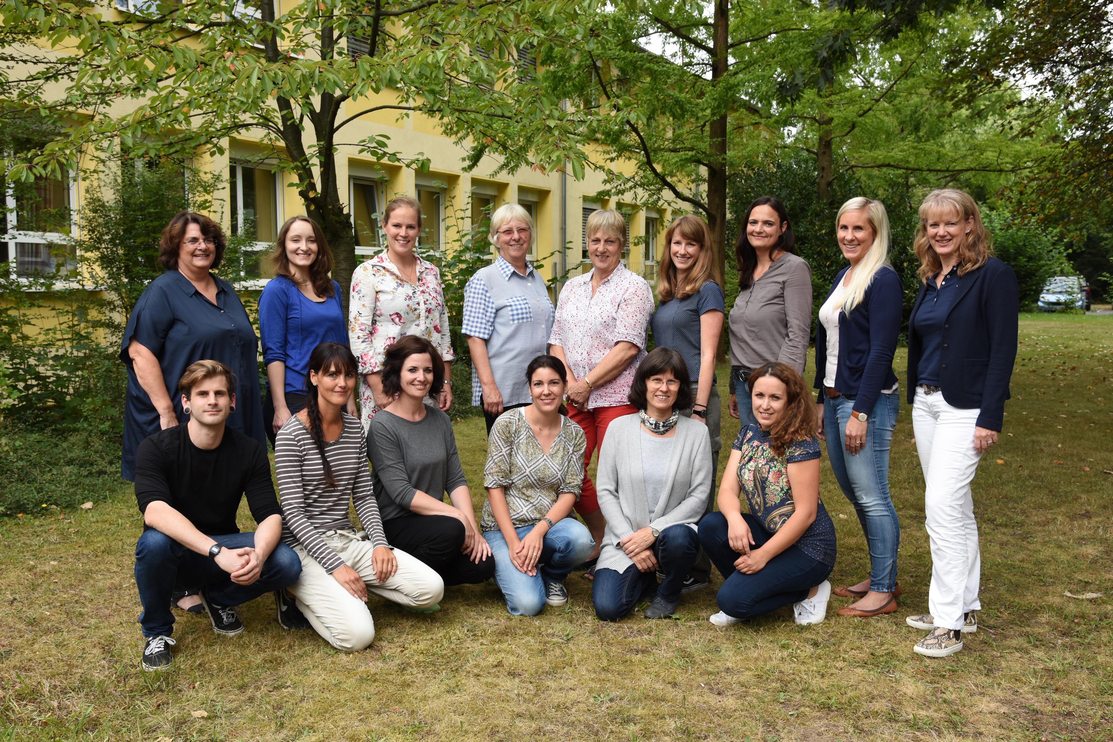 Das Lehrerkollegium 2014/2015
