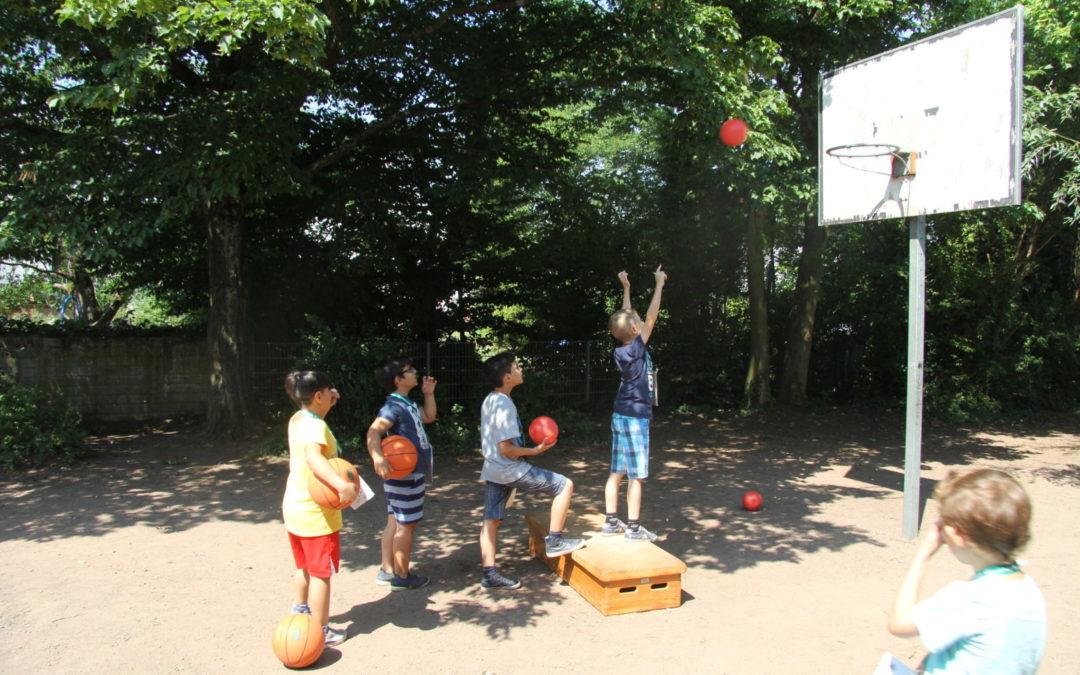 Sport- und Spielefest in der Janosch-Grundschule