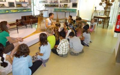 Im Fischereimuseum (von Ben, Klasse 3a)