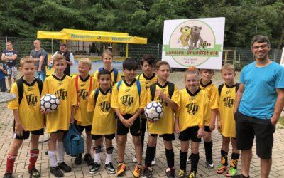 Grundschulcup 2018 – wieder Silber!
