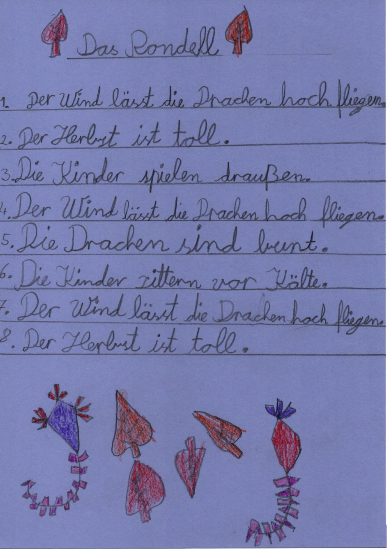 Herbst Gedichte Der Klasse 3b Janosch Grundschule