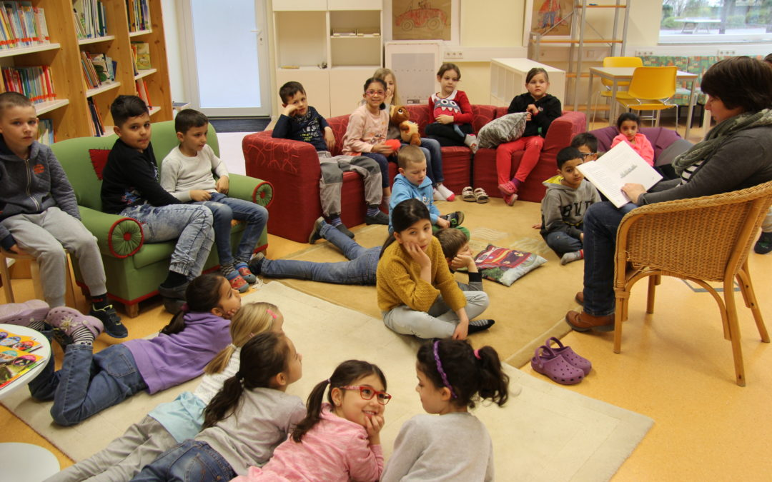 5. Lesewoche in der Janosch-Grundschule