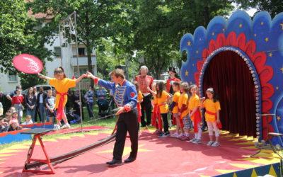 Zirkusfest in der Janosch Grundschule