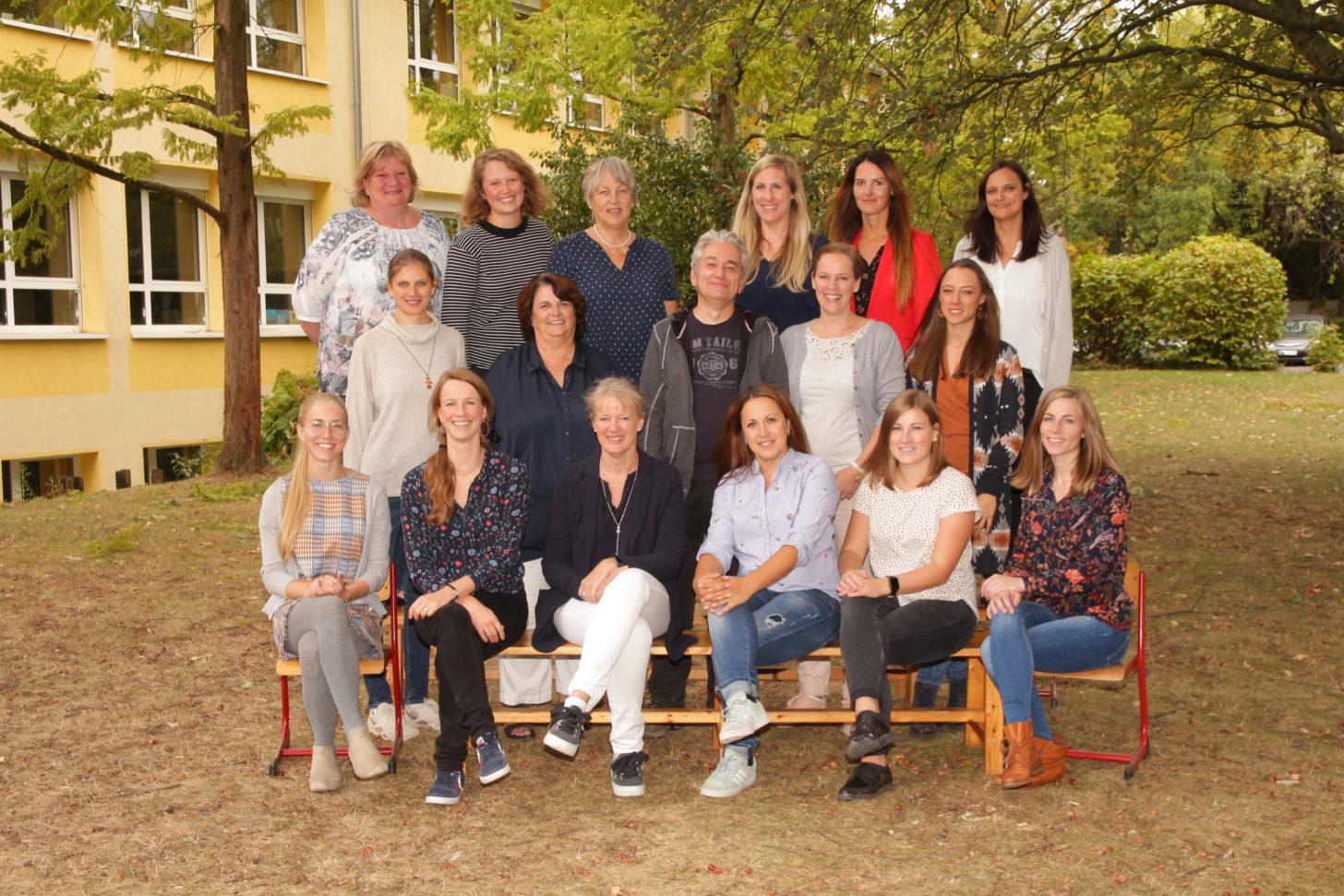 Das Lehrerkollegium 2017/2018