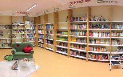 Schulbücherei ab sofort dienstags und donnerstags geöffnet!!!