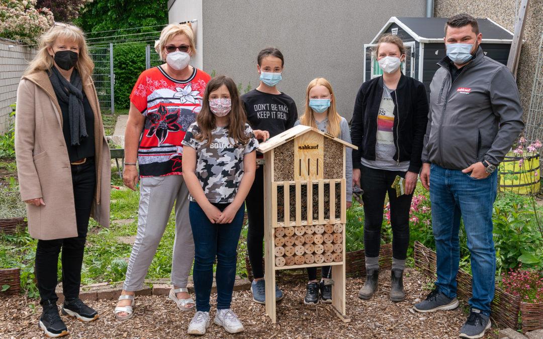 Neues Insektenhotel für unseren Schulgarten