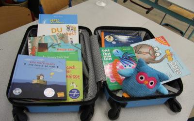 An unserer Schule rollt der Bücherkoffer NRW!