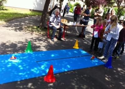 Spielstation am Sport- und Spielfest