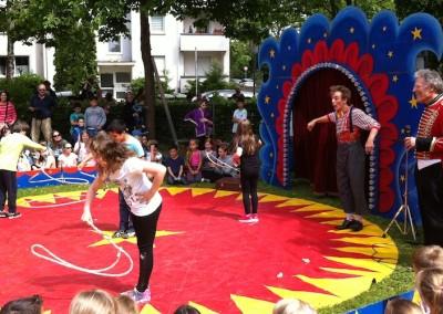 Circus Corelli an der Janosch Grundschule Troisdorf