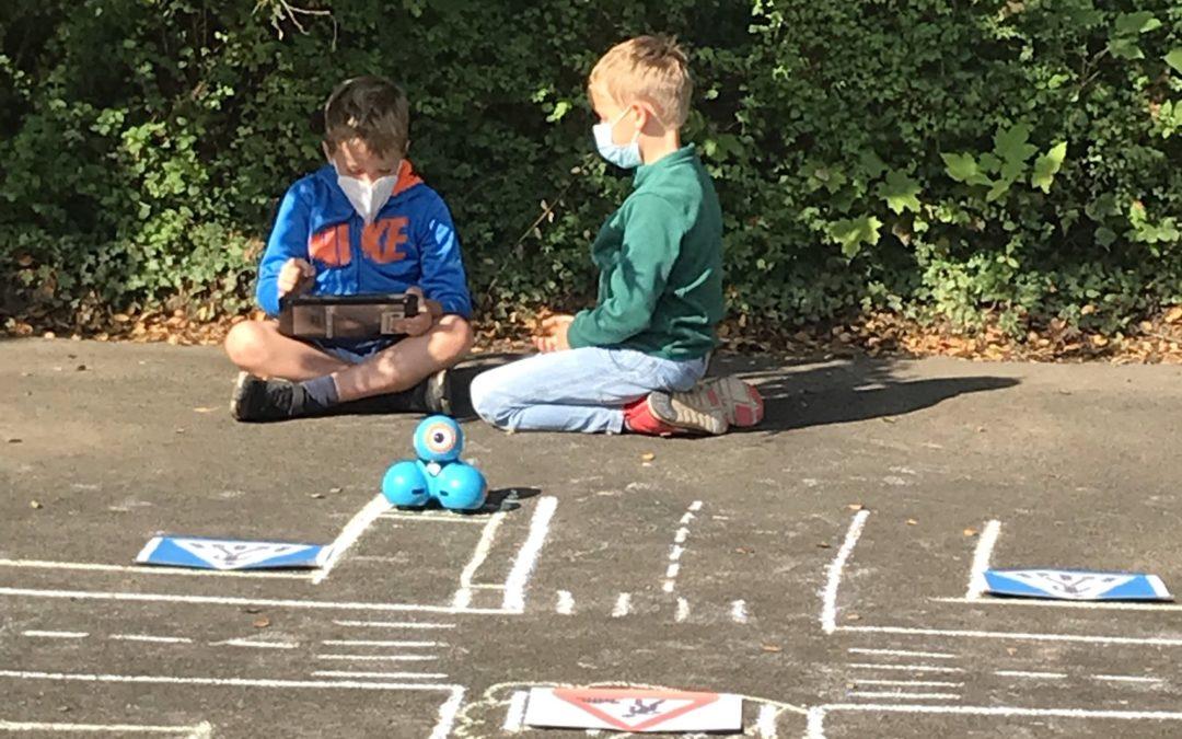 Wir programmieren unseren Schulweg – ein Projekt für das 3. Schuljahr